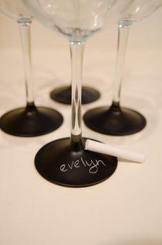 chalk name wineglasses