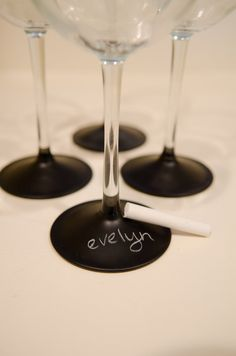 chalk name wineglasses