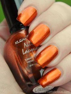 Kleancolor Metallic Orange Nail Polish, starting at $6.