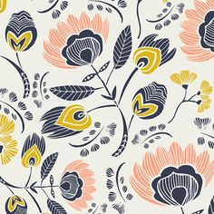 Leah Duncan - Tule - Floras Oasis in Rosa. Just bought 3 yards - SO EXCITED!