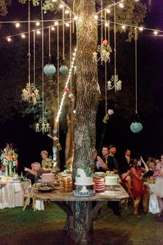 Tree Tablescape