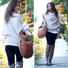 Check out Cozy Luxe Look by Lumiere, Tresics, and Machine Jeans at DailyLook
