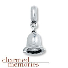 Charmed Memories Wedding Bell Charm Sterling Silver