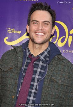 Cheyenne Jackson Opening night of Broadway's Aladdin at the New Amsterdam Theatre - Arrivals http://www.icelebz.com/events/opening_night_of_broadway_s_aladdin_at_the_new_amsterdam_theatre_-_arrivals/photo8.html