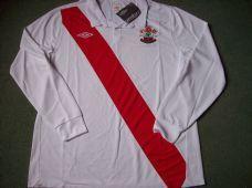 2010 2011 Southampton L/s BNWT New 125 Years Anniversary Adults XL Home Football Shirt
