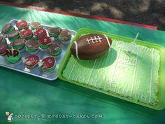Easy Peasy Carved Football Cake... Coolest Birthday Cake Ideas