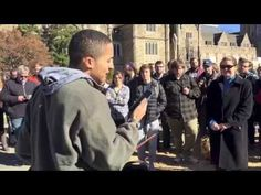 'Stand By Me' before today's Muslim call to prayer at Duke