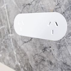 ZETR Trim-less double outlet recessed into Italian marble splash back. Cover designed to be match painted on site. Electrical Switches, Italian Marble, Cover Design, Hardware, Apple, Instagram Posts, Joinery, Stone, Google Search