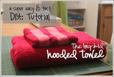 Easy hooded towel