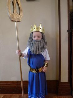 In less than two weeks both my children will competing in the All Canadian Grand Finals pageant. For the age divisions relevant to my kids. King Triton Costume, Zeus Costume, Merman Costume, Greek God Costume, Hercules Costume, Halloween Costumes For Kids, Costumes For Women, Kids Fashion, Children Costumes