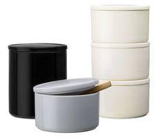 Purnukka Storage Jar by Kaj Franck - ceramics Design Shop, Jar Design, House Design, Kitchenware, Tableware, All The Small Things, Jar Storage, Storage Containers, Kitchen Shelves