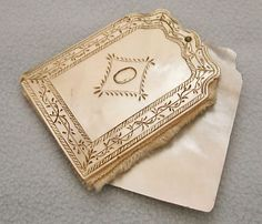 Antique Mother of Pearl Needle Case Book Victorian Aide Memoire Vintage Holder   eBay