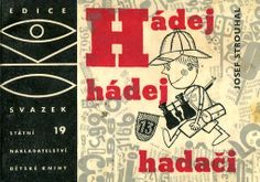 Jiri Kalousek - collages, typo and illustrations from book Hadej hadej hadaci, 1966.