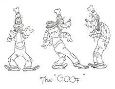 goofy animation walk - Google Search