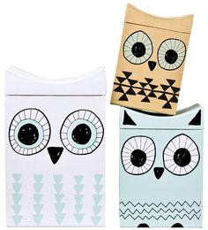 Owl boxes (a/w 2013) #lagerhaus