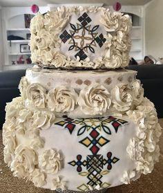 Ethiopian Wedding Dress, Ethiopian Dress, Wedding Cake Images, Wedding Cakes With Flowers, Blaze Birthday Cake, Africa Cake, African Wedding Cakes, Ethiopian Traditional Dress, Traditional Wedding Cakes