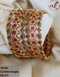 - - For Order/Price Inquiry Drop a Prod. by Jewellery 1 Gram Gold Gold Bangles Design, Gold Jewellery Design, Gold Jhumka Earrings, Antique Jewellery Designs, Real Gold Jewelry, Indian Jewelry Sets, Jewelry Patterns, Bridal Jewelry, Bengal