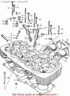 e1935a4cf119e391b64dab47798e99c6 cylinder head spare parts honda cb750 engine cutaway (silodrome) motorcycle engine cb750 engine diagram at alyssarenee.co