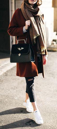 Ce look d'hiver est parfait ! Retrouvez tous nos looks sur Nouvelle Collection #nouvelleco #mode #femme #hiver