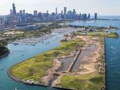 Once a small airstrip for private jets, Northerly Island is currently undergoing a major transformation which will provide Chicagoans with an opportunity to explore various micro-ecosystems when it is completed. Chicago's Studio Gang Architects are leading the landscape design for the 91-acre man-made peninsula will serve as a living museum and biology lab, allowing students and researchers to examine the habitats and behaviors of creatures that haven't flourished in this area for hundreds…