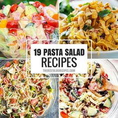 19 Pasta Salad Recipes