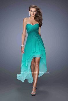 Vestidos de noche azul turquesa 2015