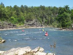 Floating the Ouachita River in Pencil Bluff, AR