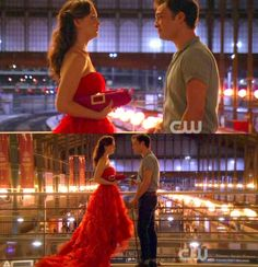 """""""Your world would be easier if i didn't come back.""""    """"That's true, but it wouldn't be my world without you in it.""""    One of the best scenes from Gossip Girl"""