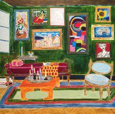 """The Salon de Art 18X18"""""""