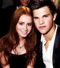 Lily collins and taylor lautner dating 2013