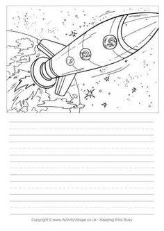 Space Ship Story Paper