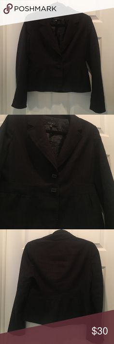 Nine West Black Blazer Size 6P Cut small Nine West Jackets & Coats Blazers