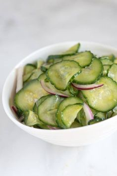 Tangy Cucumber Salad Recipe - for all those who love cucumber - Great Want to lose weight and more check this out here http://belfit.com