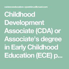 Childhood Development Associate (CDA) or Associate's degree in Early Childhood Education (ECE) preferred for Lead Teacher roles