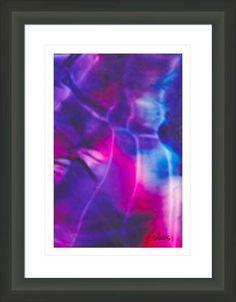 abstract northern lights 439b, by  fractal mandala art