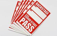 バックステージパス(サテン)| 事例 No:119 | 製作実績|シール印刷の繁盛シール工房