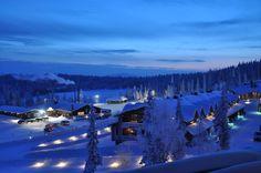 Kittilä - Finland #suomi #winter