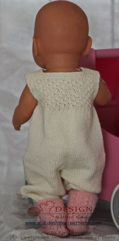 knit gorgeous doll clothes in pink and white Pullover, Doll Clothes, Knitting Patterns, Onesies, Dolls, Blog, Sweaters, Pink, Fashion