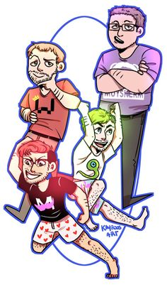 HERE'S GOES THE GANG! by Kayroos on DeviantArt