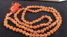 Rudraksha Japa Mala Beads 5 Mukhi Hindu Prayer by beadsincredible, $6.99