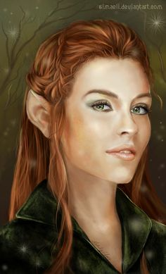 Tauriel by Simaell on DeviantArt - From the film the Hobbit