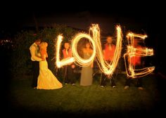 Firework Photography - works with flashlights too