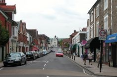 Petersfield town centre near Chichester in Southern England - Deaths Door