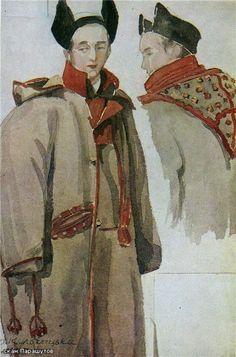 Елена Кульчицкая Верхняя мужская одежда. Гуцульщина. 1935 г.