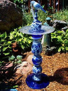 """Designs With Flare """"Blue Damask Beauty"""""""