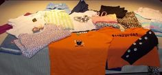 17 Piece Girls Size 10 - 12 Lot of Clothes: Dress / Shirts / Legging / Jeans #Everyday