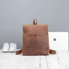 Are you interested in our leather backpack for her? With our small leather backpack you need look no further.