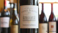 The Reverse Wine Snob: Chateau Saint Julian Bordeaux Superieur 2010 - Bordeaux For The Rest Of Us. Includes an explanation of the Bordeaux Superieur designation.  http://www.reversewinesnob.com/2014/10/chateau-saint-julian-bordeaux-superieur.html #wine #winelover
