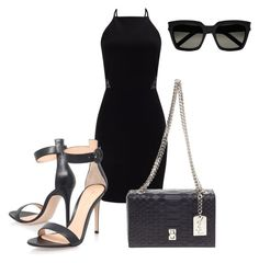 """""""Unbenannt #198"""" by lailabalic on Polyvore featuring Mode, Miss Selfridge, Gianvito Rossi und Yves Saint Laurent"""