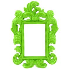 "2 1/4"" x 3 1/2"" Lime Green Ornate Photo Frame   Shop Hobby Lobby"